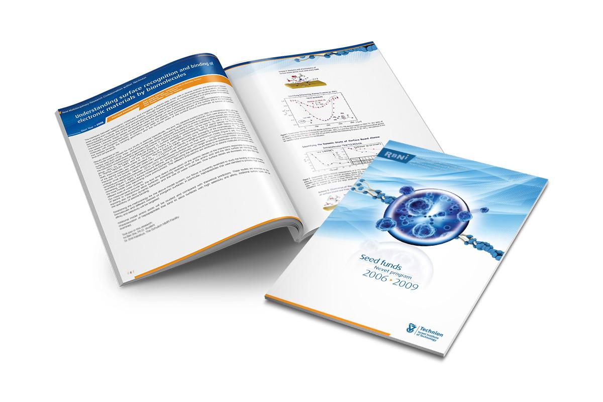 עיצוב חוברת מחקרים RBNI