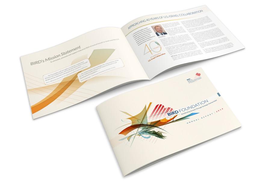 עיצוב חוברת בירד 2016