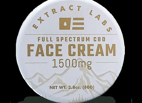 Face Cream 1500 mg - Full Spectrum