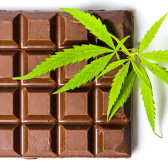 Delicious Chocolate with cbd