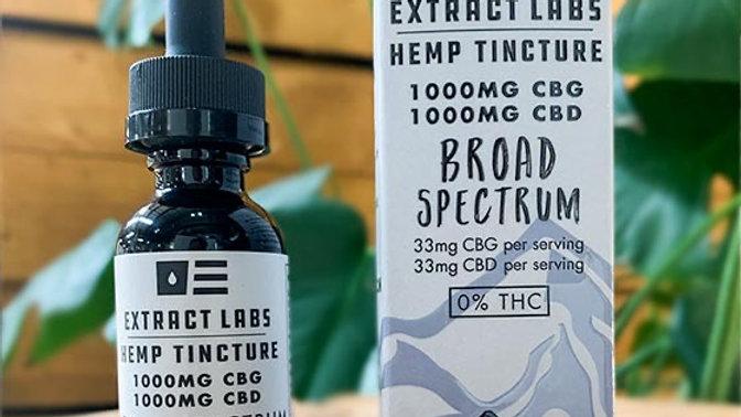 Broad Spectrum - CGB CBD 1000mg