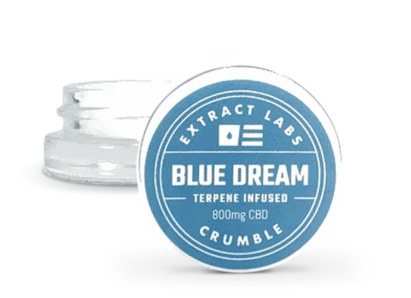 Extract Labs Blue Dream - Crumble 800mg CBD / 200mg