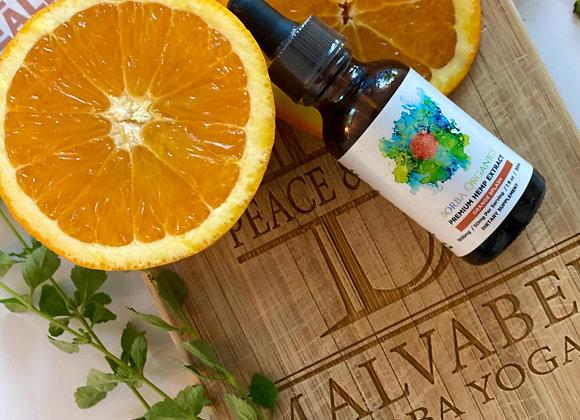 Borba Organics' Premium Hemp Extract | Orange Splash | 1500mg