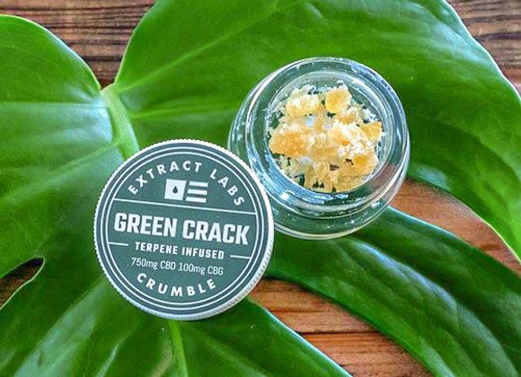 GREEN CRACK CBD Crumble1000mg