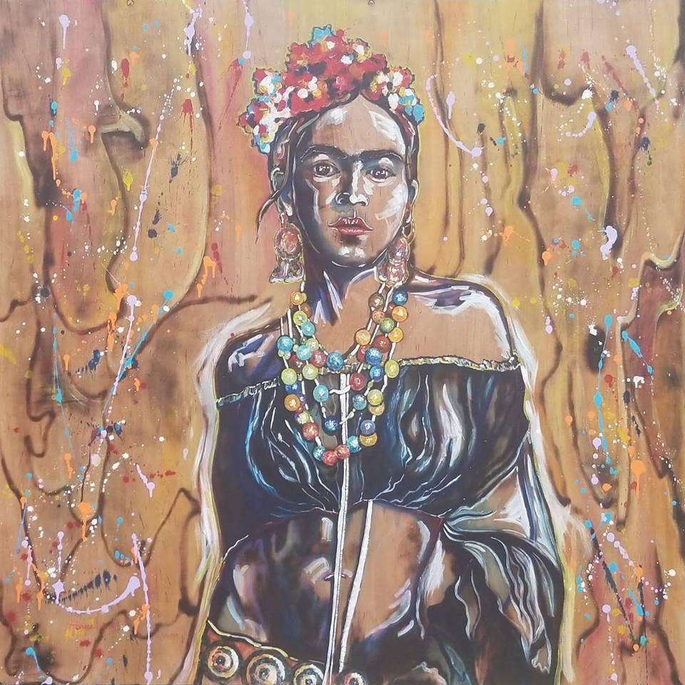 Frida on Fire