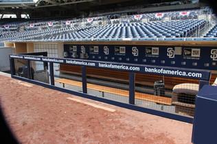 SportsVenuePadding.com   San Diego Padres   Stadium padding with Graphics