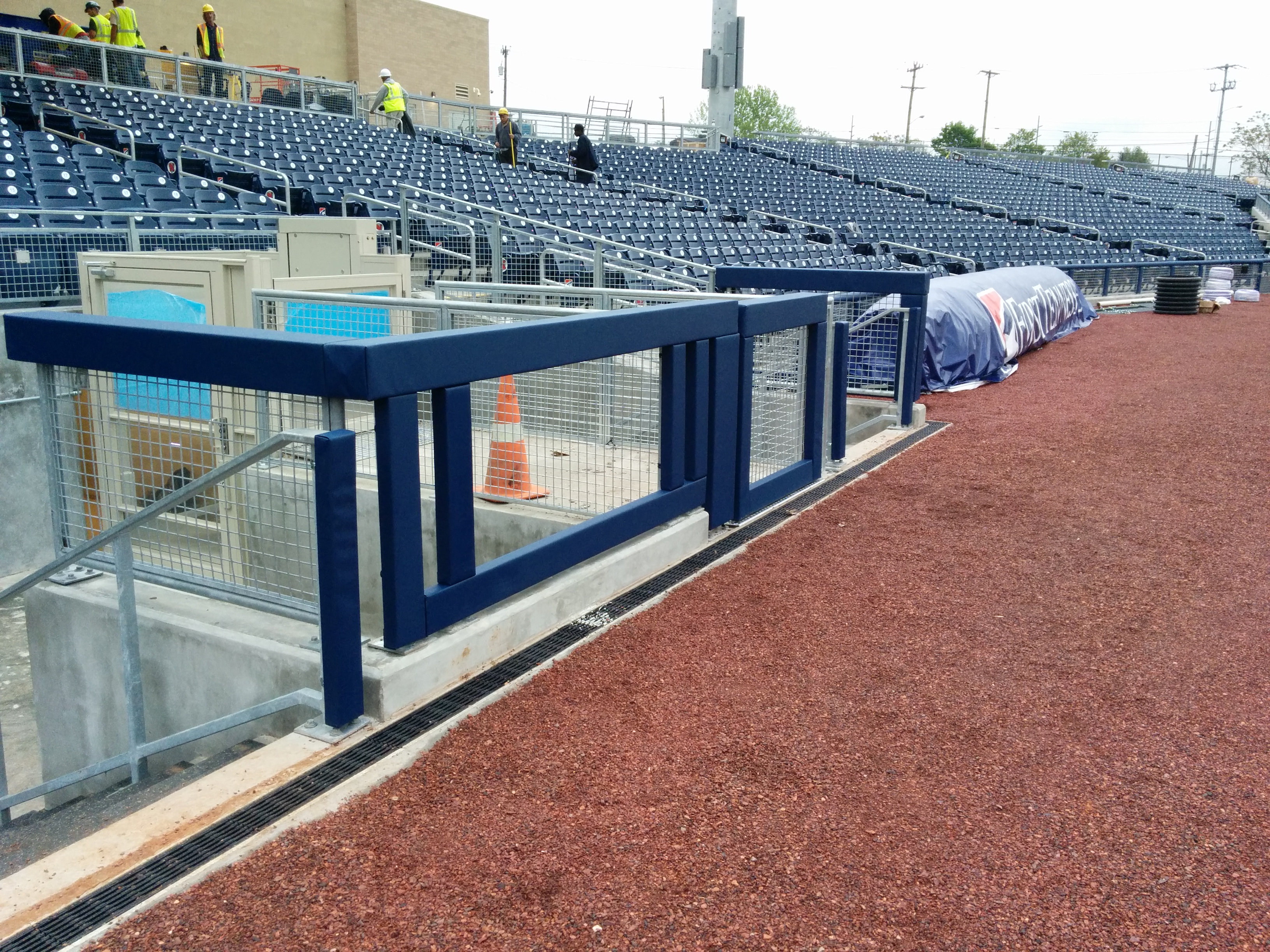 Baseball Outdoor Field Gate Padding