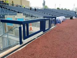 Baseball Outdoor Field Gate Padding