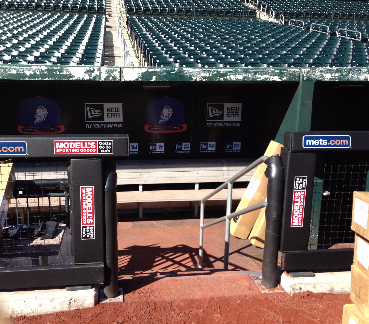 Rail & Wall Padding | NY Mets