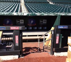 Rail & Wall Padding   NY Mets
