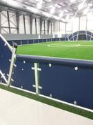 SportsVenuePadding.com   Indoor Soccer Arena   Wall Pads & Mats   Rail Pads   Outdoor soccer field   Facility Padding   Graphic Printing