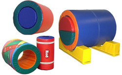 Rainbow Barrel w/Stands
