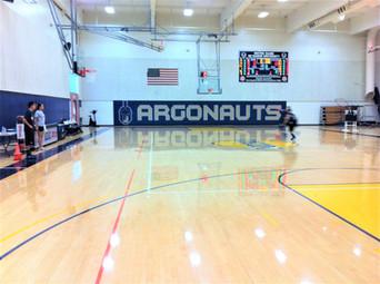 SportsVenuePadding.com | Basketball court wall padding