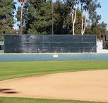 Windscreen | Batter's Eye | Baseball field padding | SportsVenuePadding.com