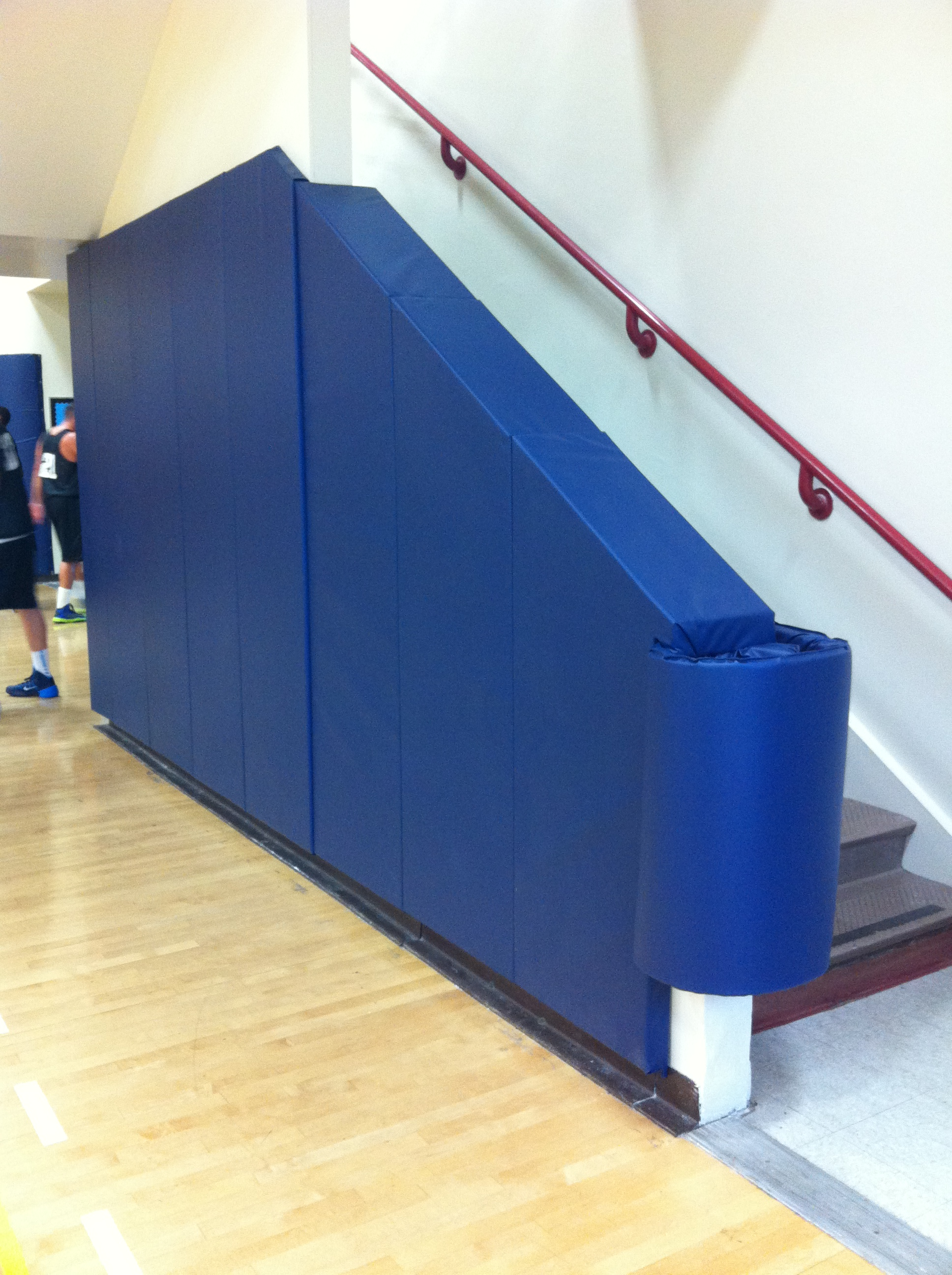 Wall Padding | | Indoor | Stairway
