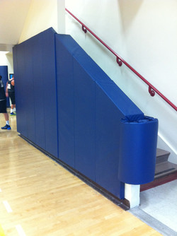 Indoor Wall Padding | Stairwell
