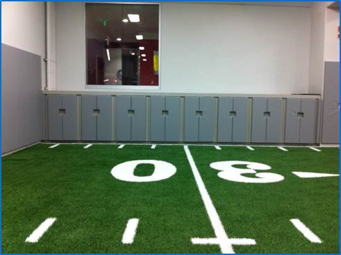 Wall Padding | Indoor Practice Field