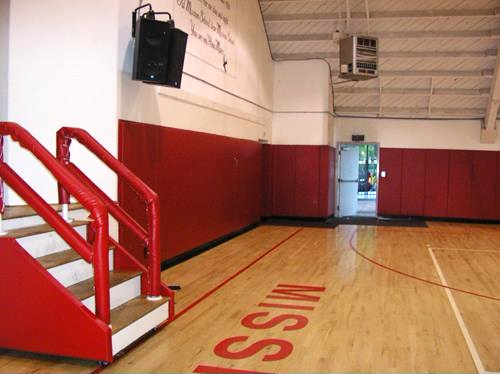 Wall Padding | Basketball Court