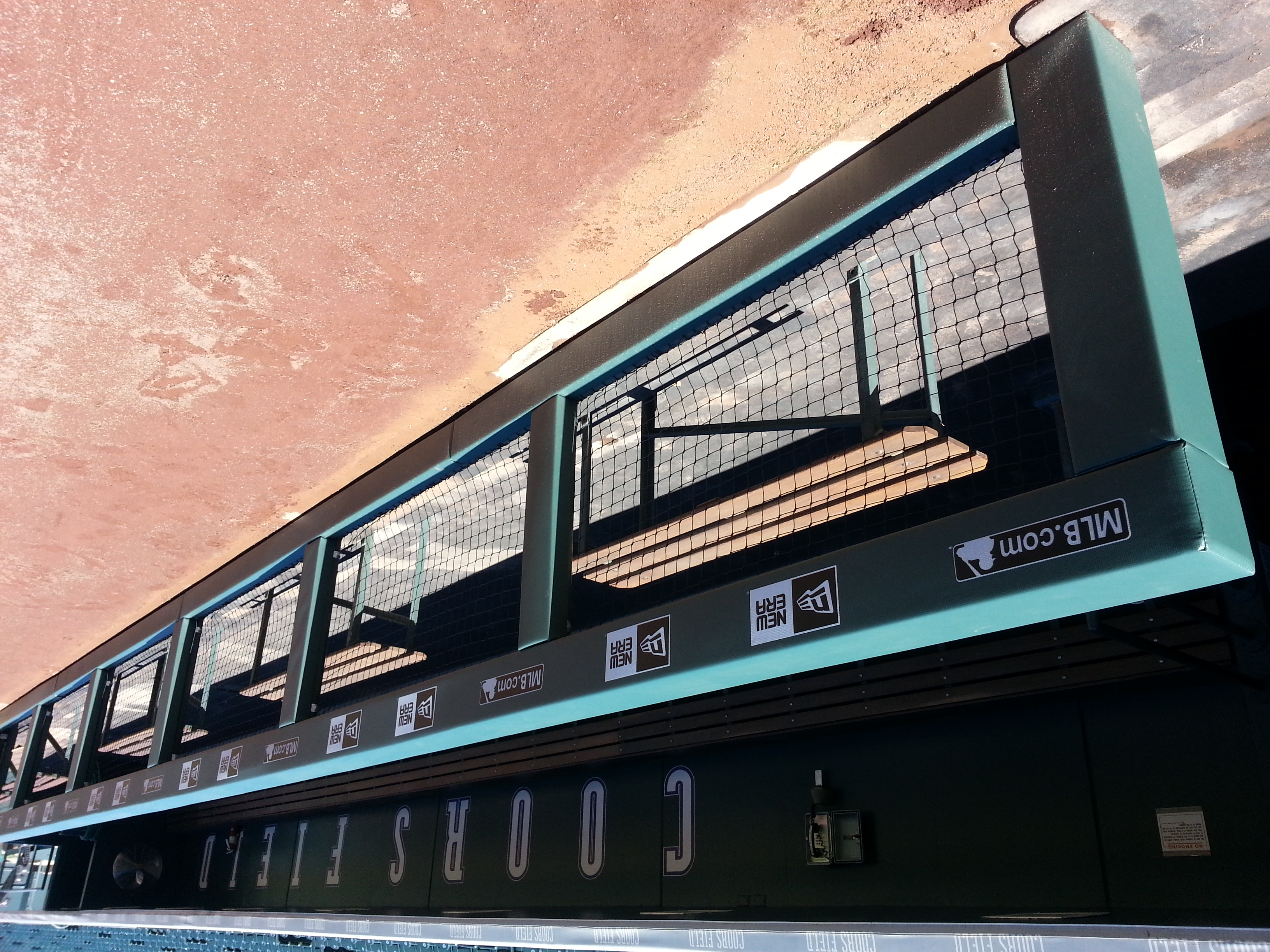 Rail & Wall Padding | Coors Field