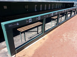 Rail & Wall Padding   Coors Field