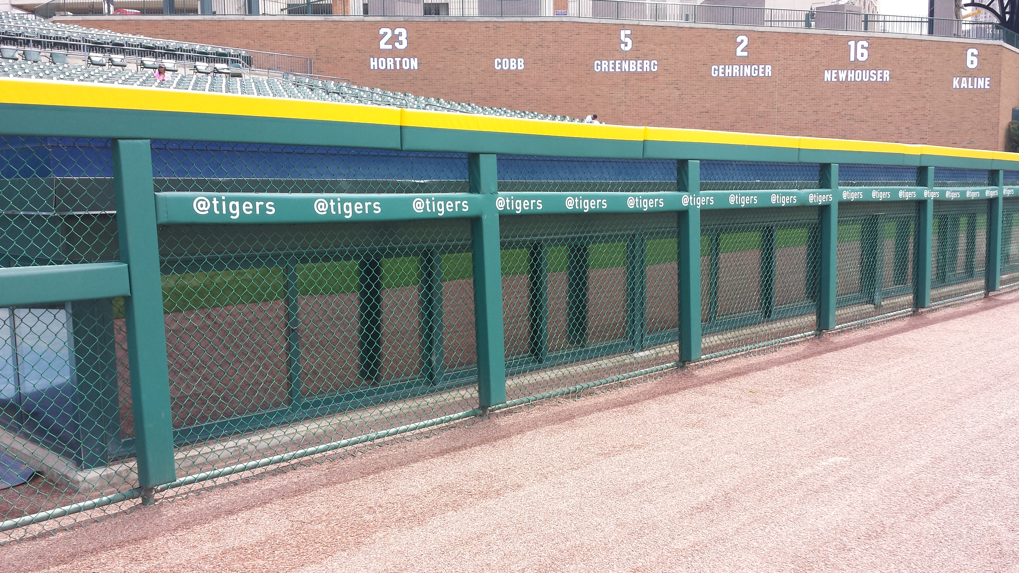 Rail & Wall Padding | Tigers