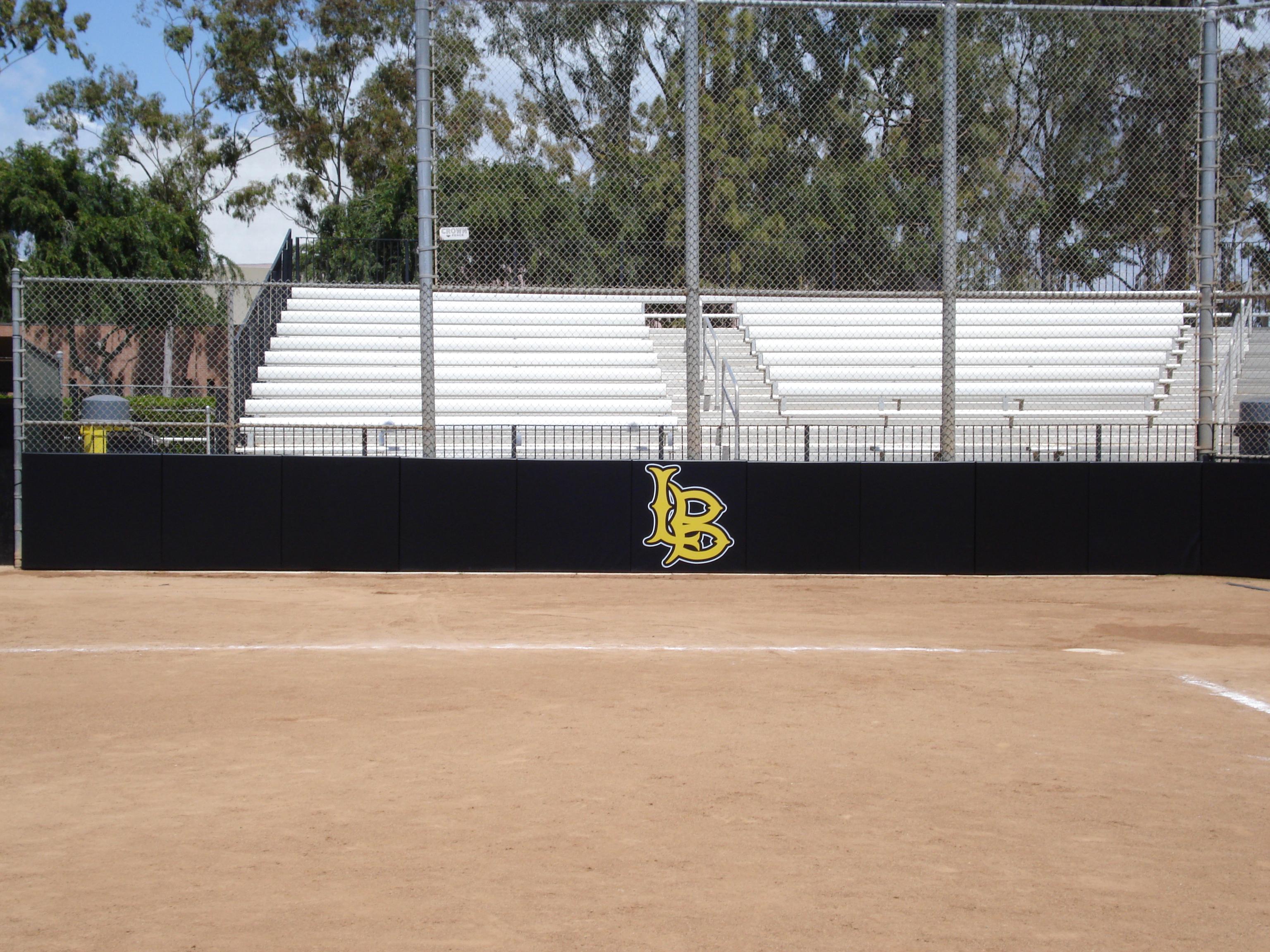 Baseball Woodbacked Backstop Padding
