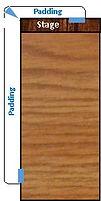 Wall Pads - Custom - Stage Padding