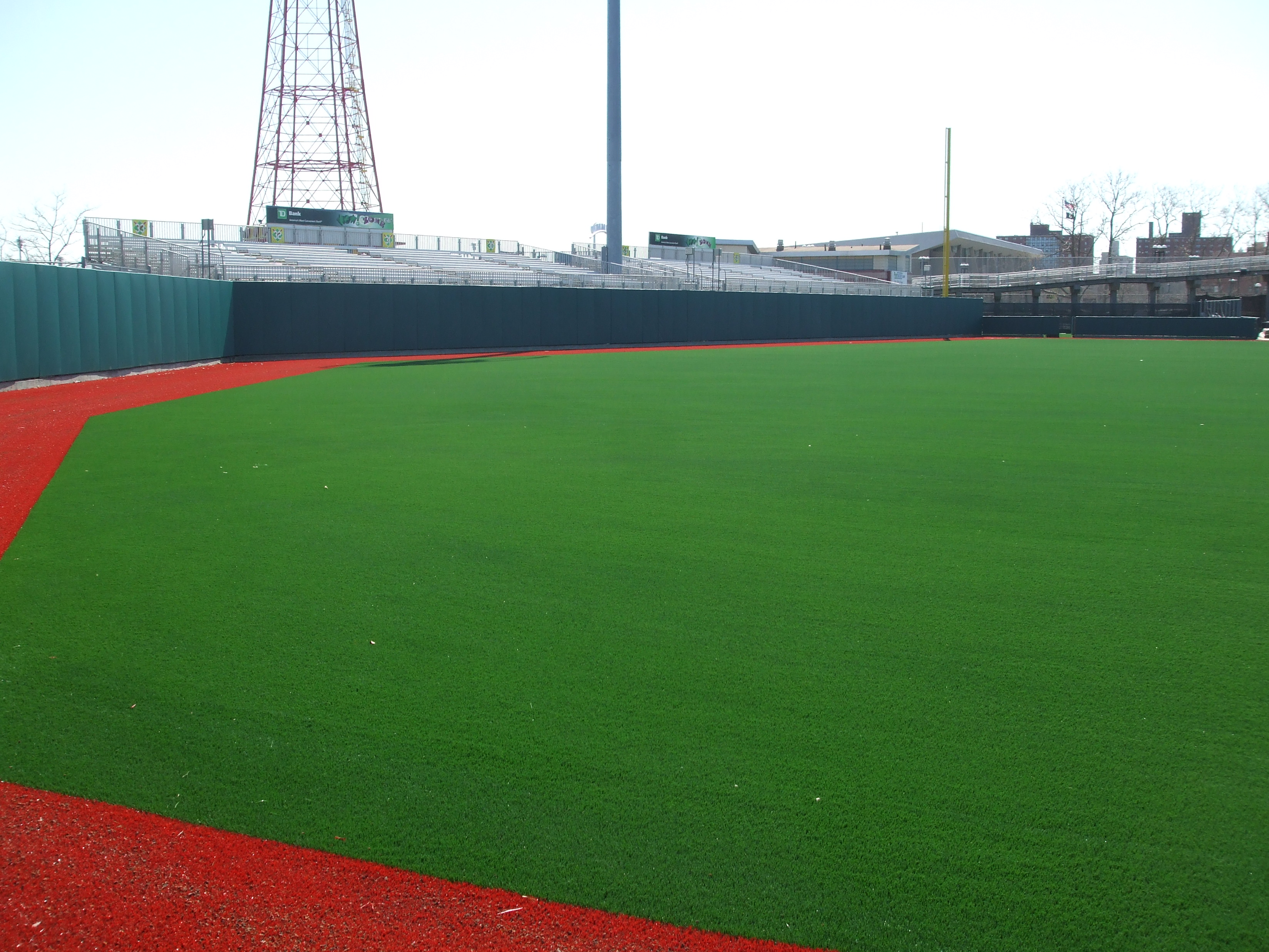 Outfield Wall Padding | Baseball