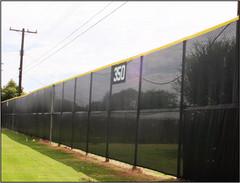 SportsVenuePadding.com | Windscreen | Outdoor | Field | Tennis court windscreen | Fence screen | Privacy | Sponsorhip graphic printing