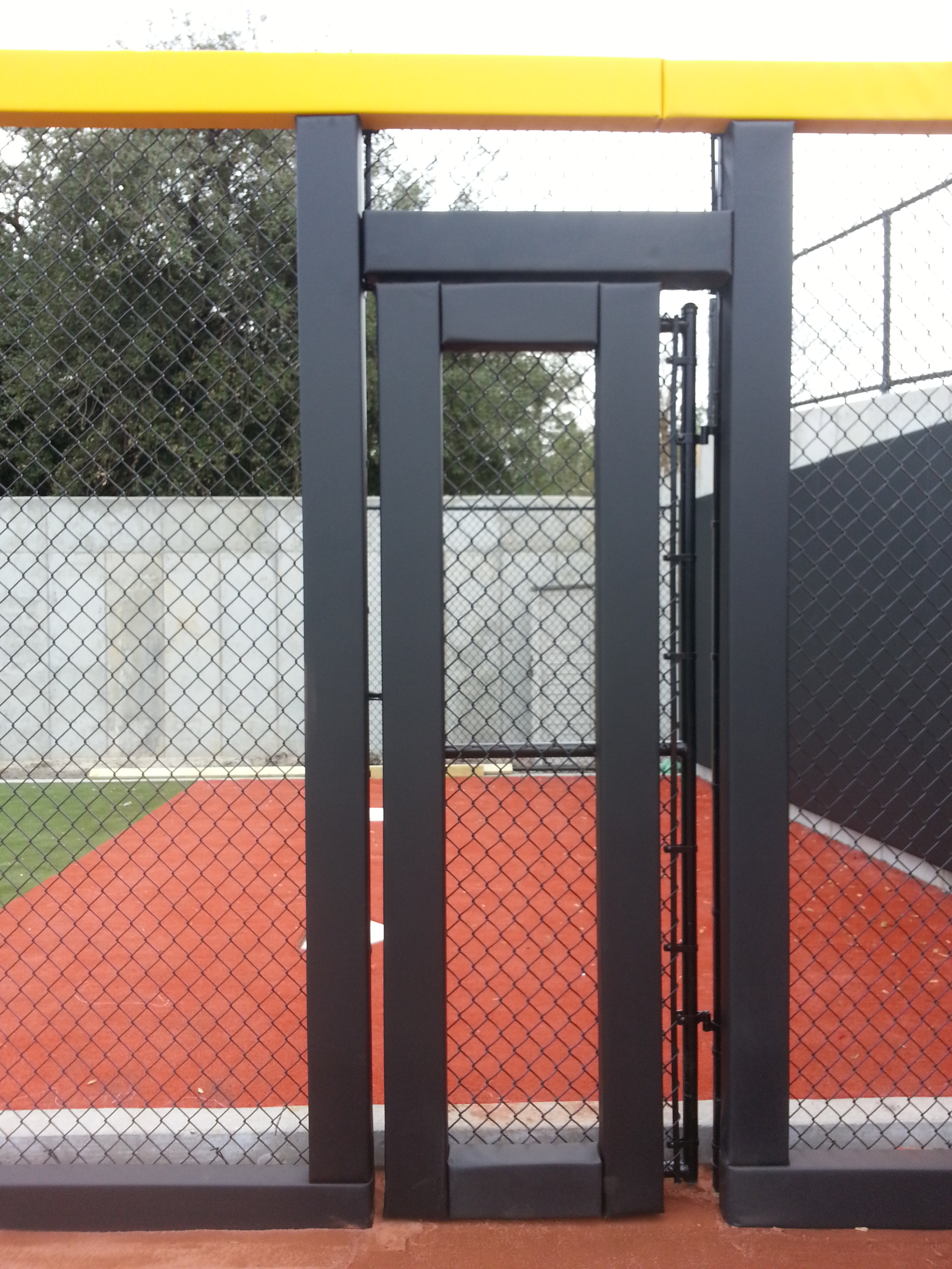 Baseball Fence Door Bullpen Padding