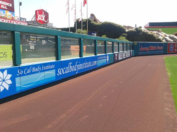 Wall Padding | Baseball Outfield