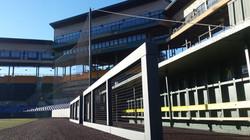 Baseball Rail Padding - WSU Field