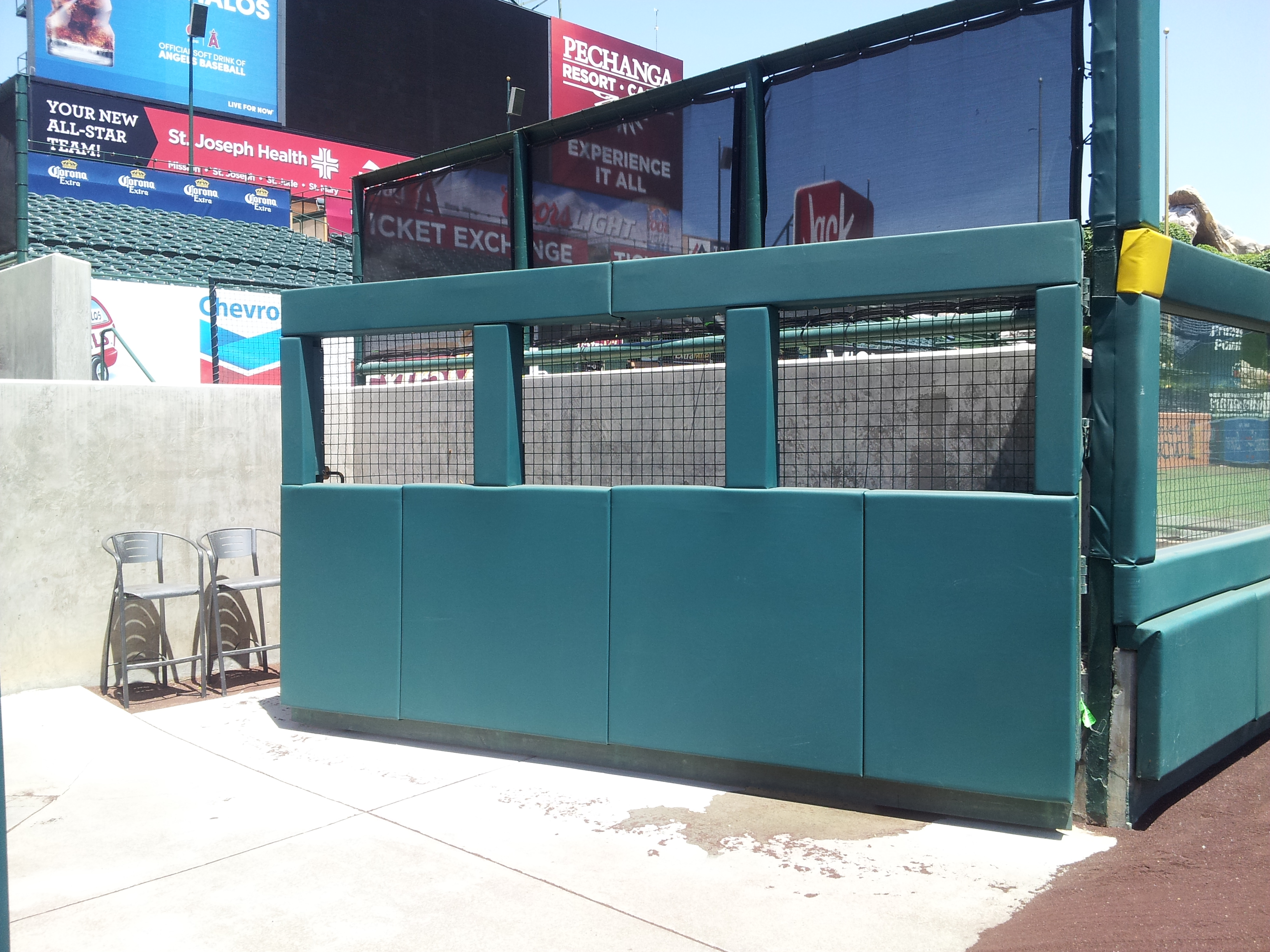 Baseball Outdoor Gate Field Padding