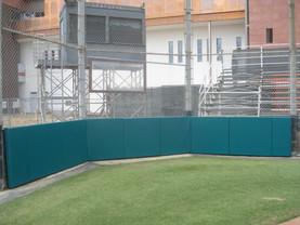 SportsVenuePadding.com   Backstop Padding   Baseball   Softball   Stadium   Facility Protective Padding