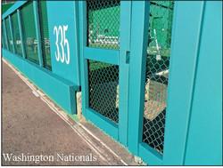 Wall Pads - Custom - Rail - Gate
