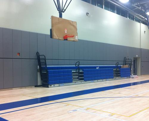 Indoor Wall Padding | Bleachers