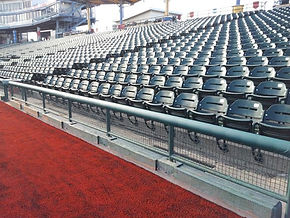 Sports - Perma Rail - Uni Rail - Baseball - Field Padding