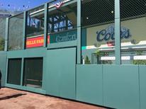 SportsVenuePadding.com | MLB | Outfield Pads | Baseball | Softball | Stadium | Facility Padding | Post pads | Rail pads | Bullpen padding | Graphic Printing