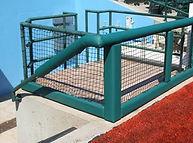 Baseball field padding | rail & gate padding | SportsVenuePadding.com
