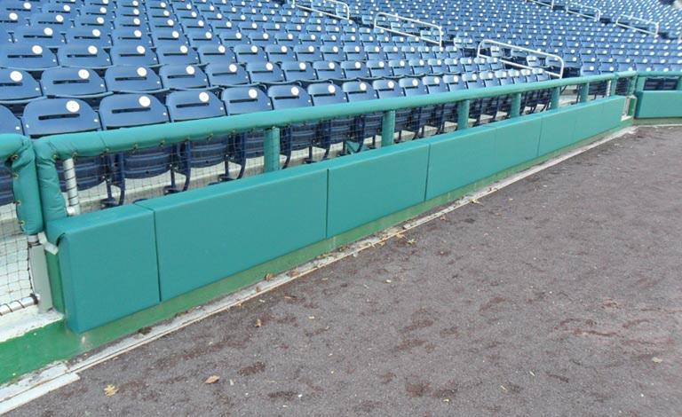 Wall Padding | Baseball Rail Pads