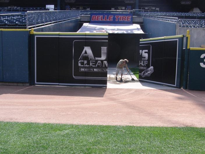 Baseball Field Gate Door Padding