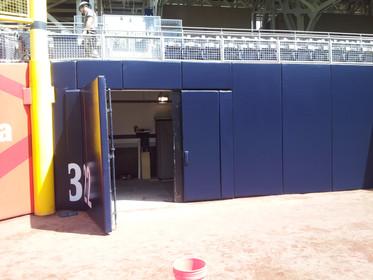 SportsVenuePadding.com | Stadium wall, gate, and door padding