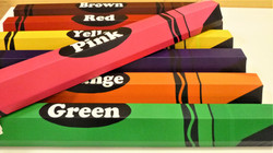 Balance Beam - Crayons - Variety of Colors - SportsVenuePadding.com.jpg
