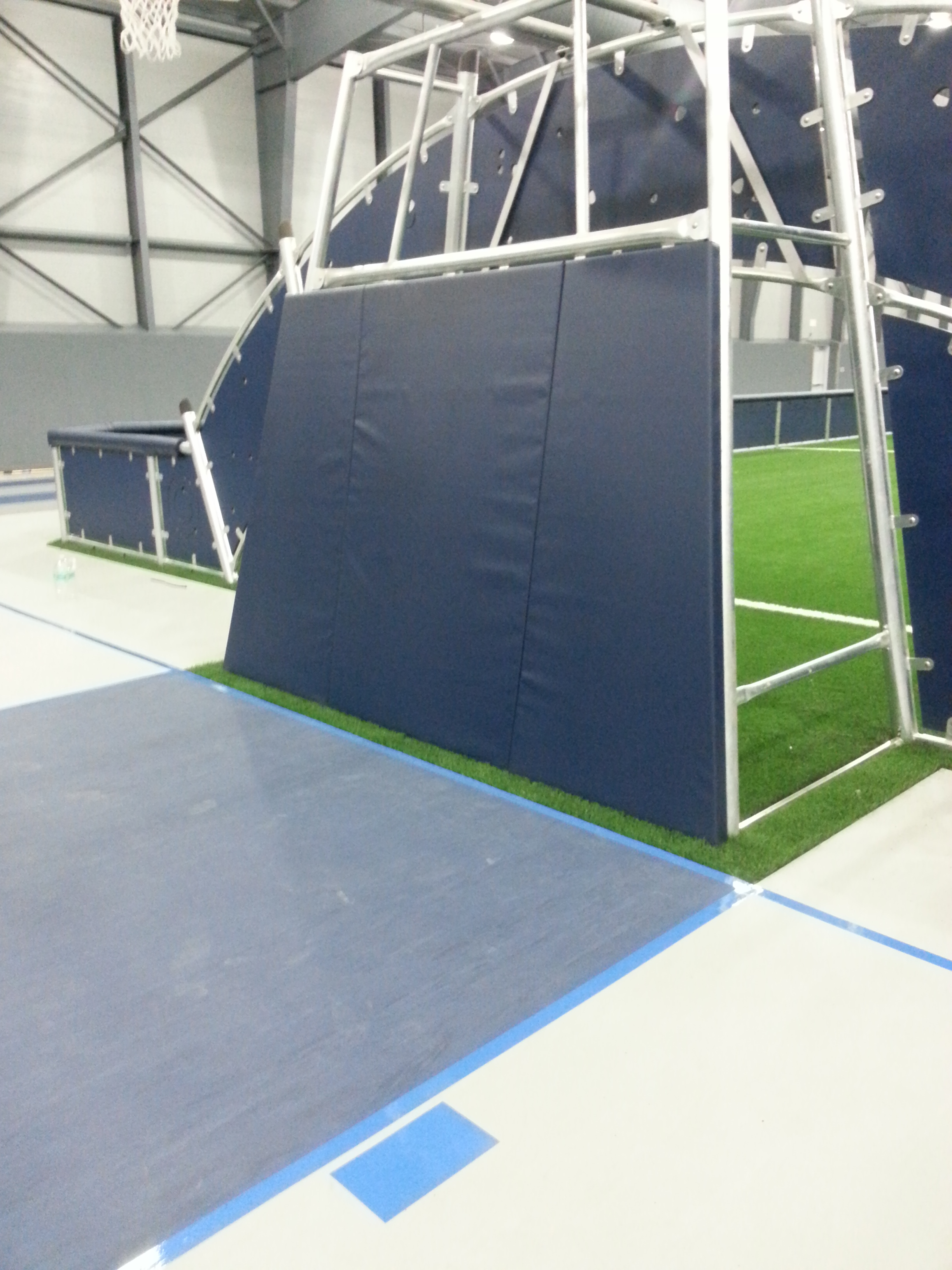 Indoor Wall Padding | Soccer Arena