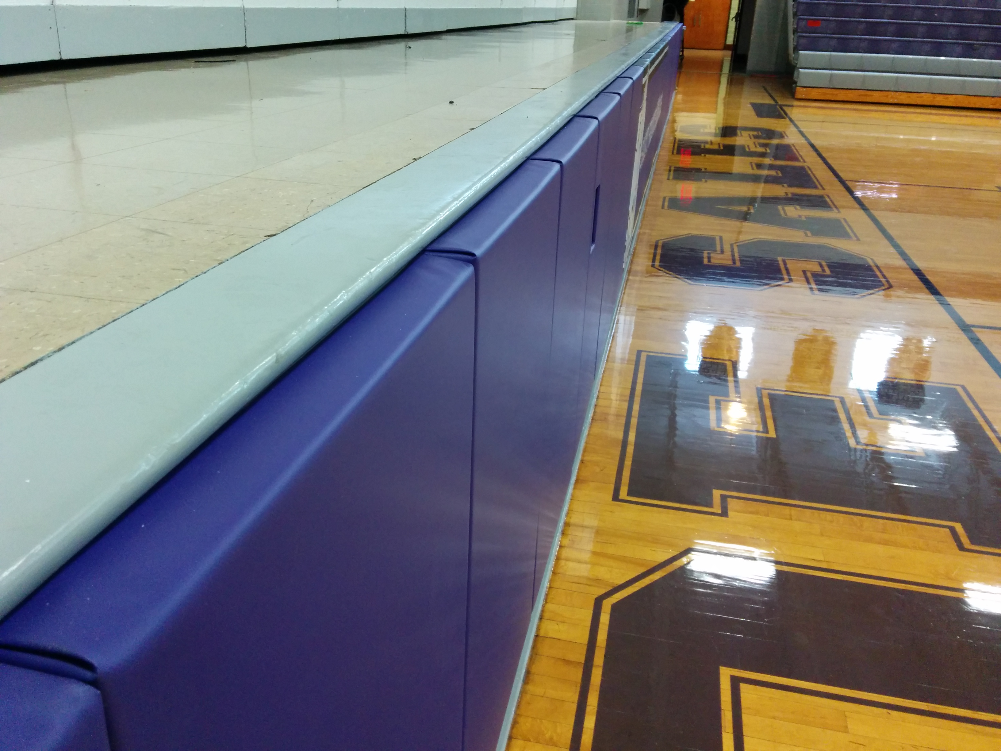 Stage padding | Gymnasium Wall Pads