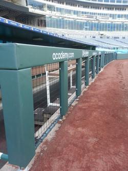 Baseball Rail Padding   KC Royals