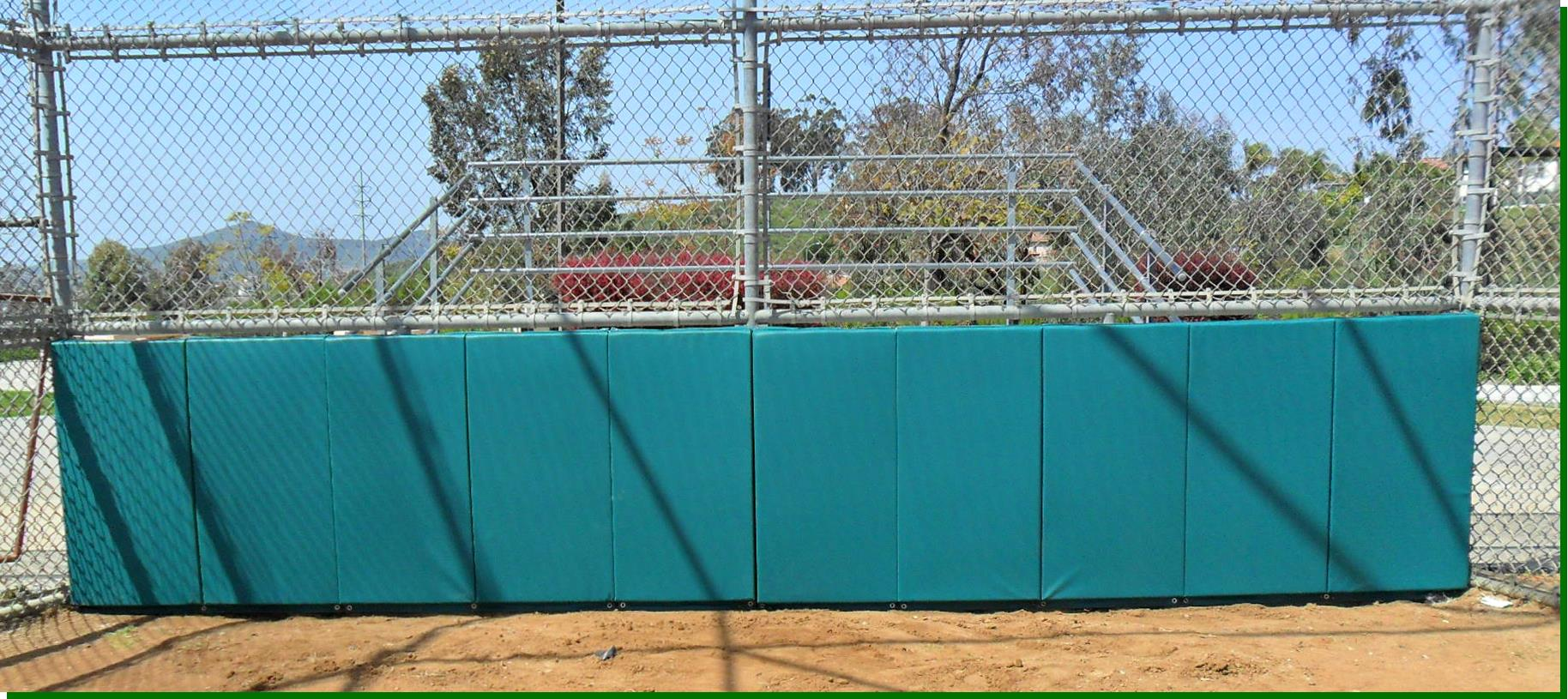 Baseball Folding Backstop Padding