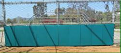 Baseball Folding Backstop Padding