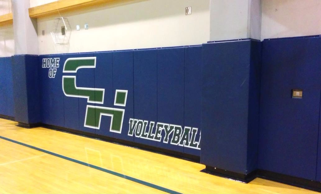 Printed Wall Padding | Basketball
