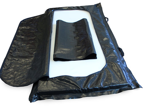 Case of 10 - Adult-size Body Bags and Mega Movers